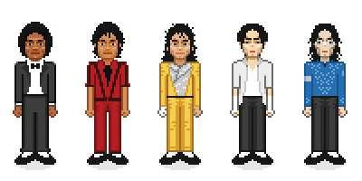 8-Bit Celebrity Caricatures