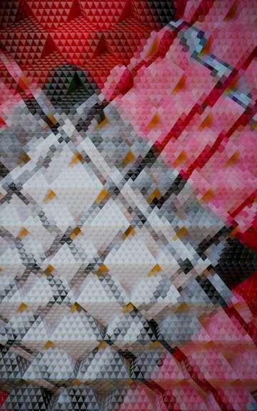 Pixelated Plaid Captures