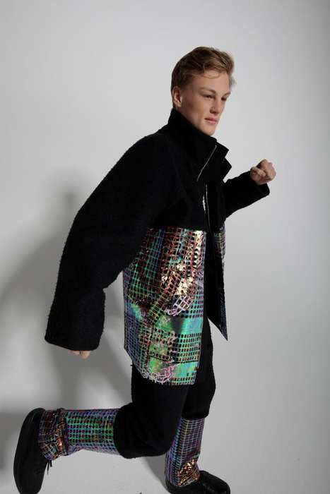 Holographic Hipster Wear