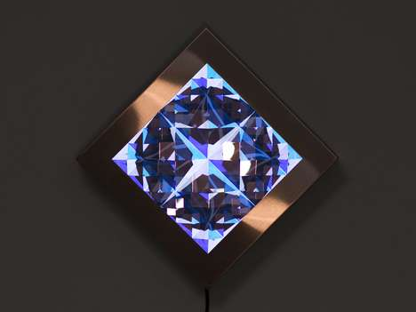 Crystalized Video Sculptures - Prismatica by Kit Webster is Whimsical and Fascinating