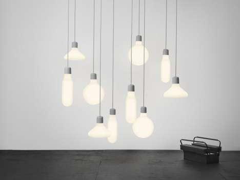 Bauhaus-Shaped Lighting
