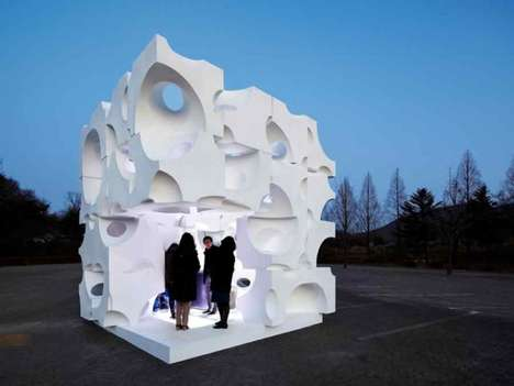 Abstract Architecture Pavilions
