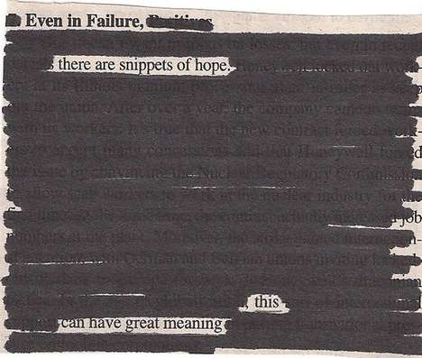 Word-Picked Paper Poems