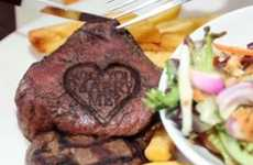 Meaty Marriage Gestures - The Lydiard Beefeater Grill 'Will You Marry Me' Steak is a New Tactic