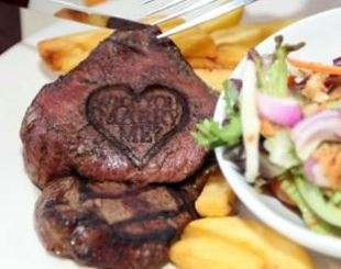 The Lydiard Beefeater Grill 'Will You Marry Me' Steak is a New Tactic