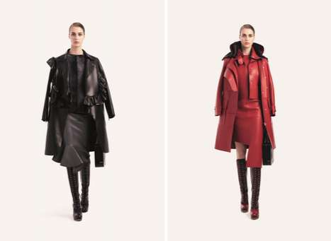 Ladylike Layered Leather Lookbooks