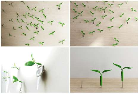 Sprouting Wall Hooks
