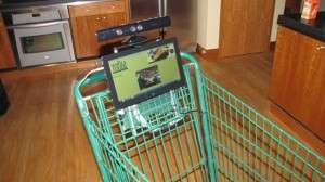 Hands-Free Shopping Carts  - The Kinect-Powered Whole Foods Cart is High-Tech