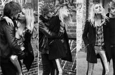Tormented Love Ads - The AY Not Dead Fall Campaign Stars a Harrowed Dree Hemingway