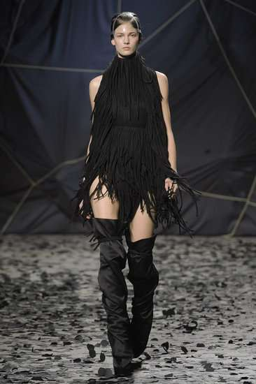 Magnificently Moody Catwalks - The Gareth Pugh Fall Collection Maintains its Signature Edge