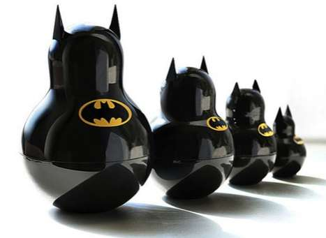 Dark Knight Nesting Dolls