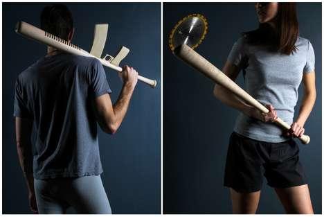 Weaponized Baseball Bats