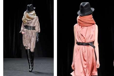 Scarf-Engulfing Fashion