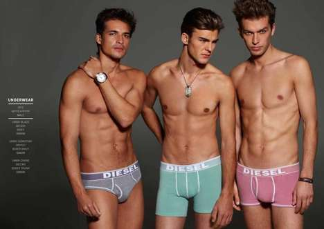 Color-Popping Underwear Ads
