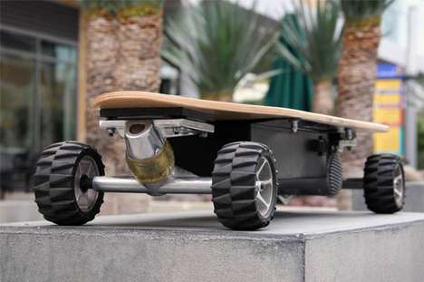 The ZBoard Senses Weight to Move and Stop