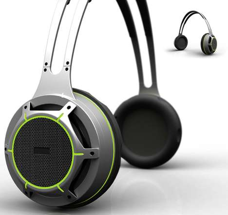 Electricity-Producing Headphones
