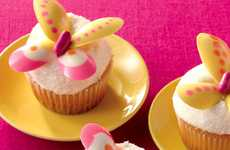 Whimsical Winged Cakes - These Butterfly Cupcakes are a Tasty Way to Welcome Spring