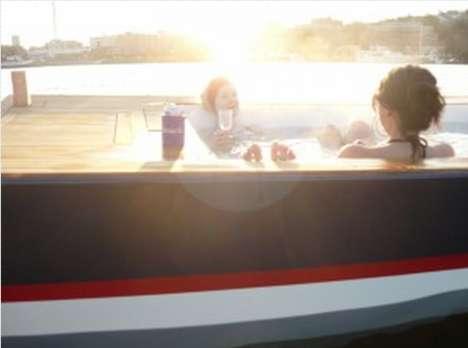 Luxurious Jacuzzi Watercrafts