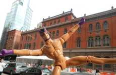 Streaking Superhero Blogs - Naked Hawkeye Turns Everything into a Sexual Innuendo