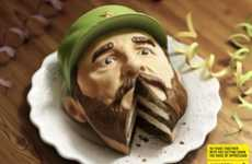 Delicious Dictator Ads - The Amnesty International Campaign Cuts Away at Oppression