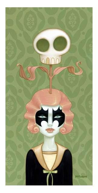 Morbid Madame Paintings