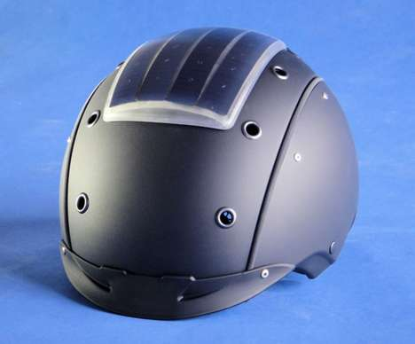 Sun-Powered Headgear