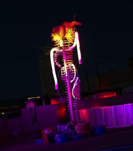 Flaming Showgirl Festivals