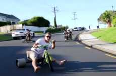 Three-Wheeled Downhill Sports - Trike Drifting is Like Mario Kart in Real Life
