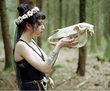 Forest-Dwelling Goth Shoots