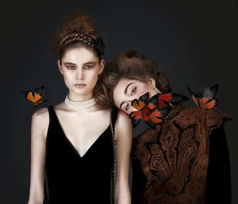 Butterfly-Infused Beauty Photography