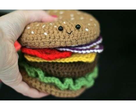 11 Cute Crocheted Edibles