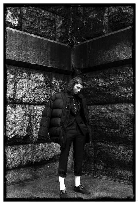 Edgy Outerwear Editorials