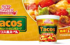 Tempting Tex-Mex Noodles - Taco-Flavored Ramen is an Intriguing Culinary Hybrid