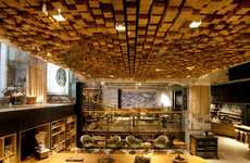 Building Block Cafes - The Starbucks Amsterdam Rembrandtplein is Dynamically Designed
