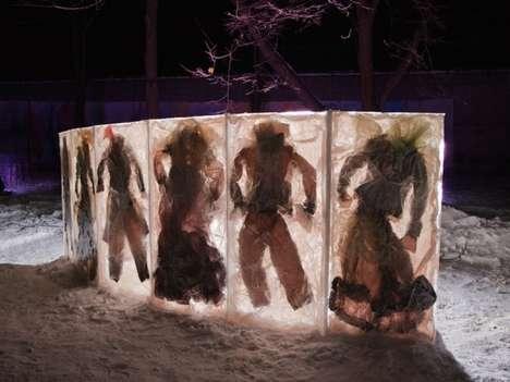 Fashionably Frozen Artworks