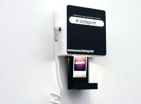 Social Media Photo Booths - Instaprint by Breakfast Provides Physical Prints of Instagram Images
