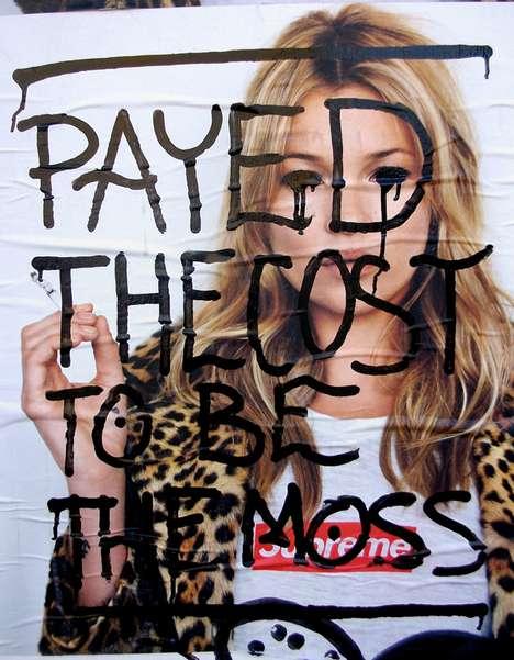 Supermodel-Specific Graffiti
