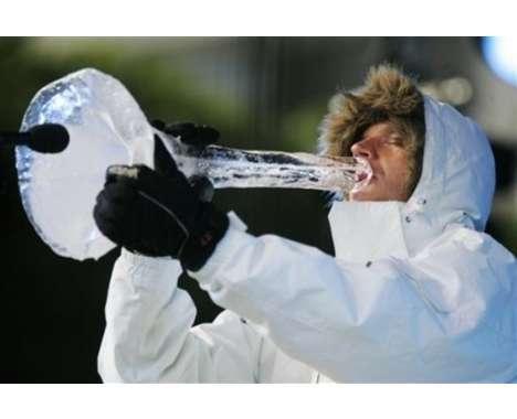 17 Ingenious Ice Sculptures