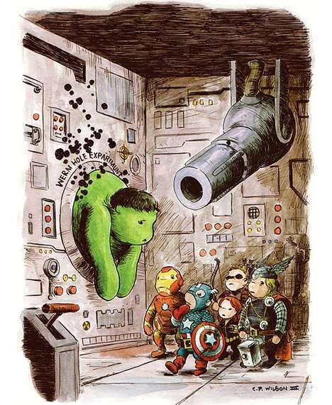 Honey Bear Superheros