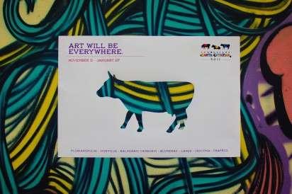 Cattle-Cut Art Ads