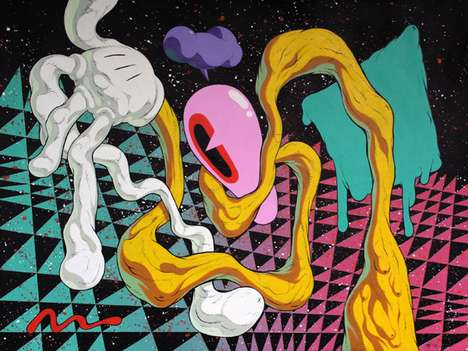 Psychedelic Dimension Paintings