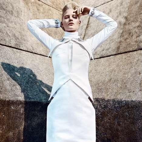 Architectural Alabaster Fashion