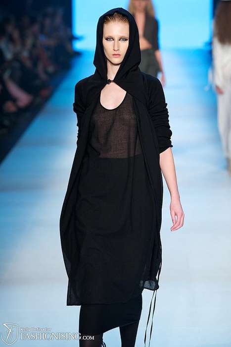 The Lui Hon FW 2012 Collection is Ethereal and Darkly Dreamy
