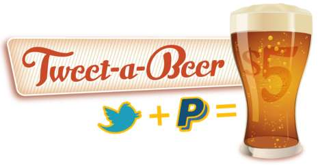 Social Media Suds - Buy a Round of Beer for Your Twitter Friends with Tweet-A-Beer