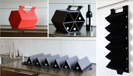 Compact Wine Racks
