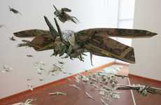 Money Locust Swarms - 'The Plague' by Sipho Mabona Reflects on the Evilness of Currency