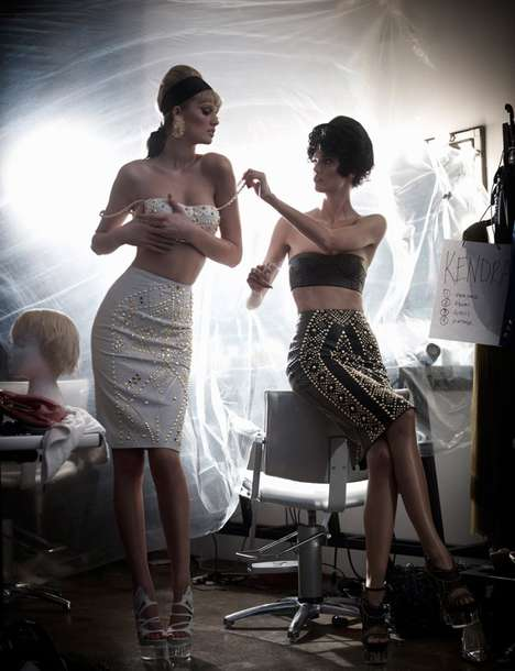 Chic Backstage-Inspired Editorials