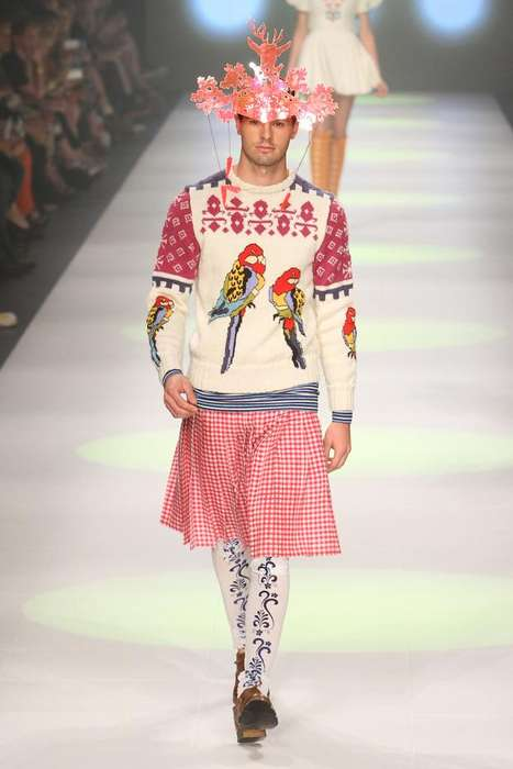 Eccentric Holiday Sweaters