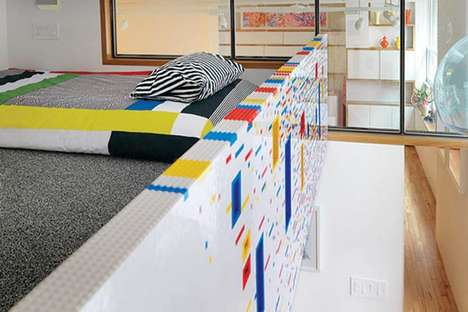 Blocked Interior Designs - The LEGO Apartment Presents an Alternative Style