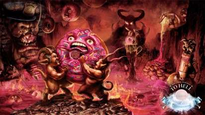 Inferno-Inspired Heartburn Ads
